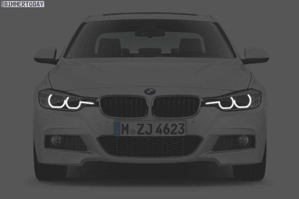 BMW 3er Facelift 2015 Licht Design F30 LCI 02