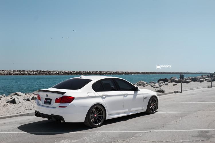 BMW 5 Series With Vorsteiner Aero And Wheels 3 750x500