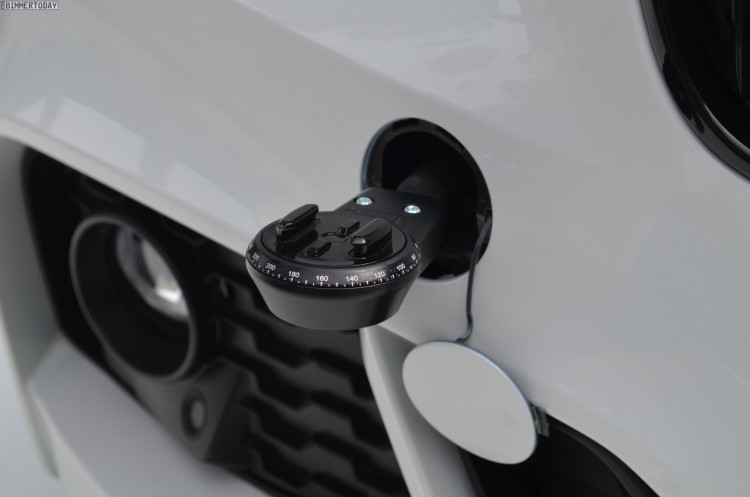 BMW Accessories for GoPro mounting
