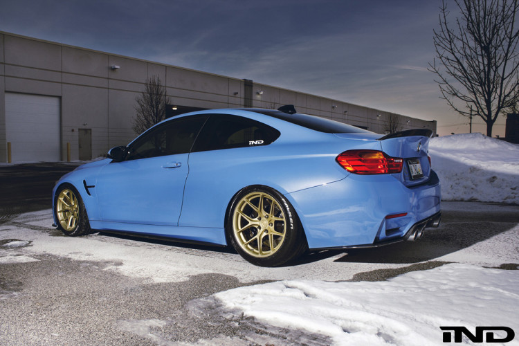BMW M3 with HRE R101 by IND Distribution 10 750x500