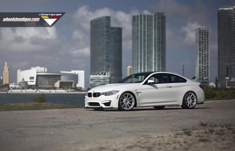 BMW M4 With Vorsteiner Wheels By Wheels Boutique 1 750x482