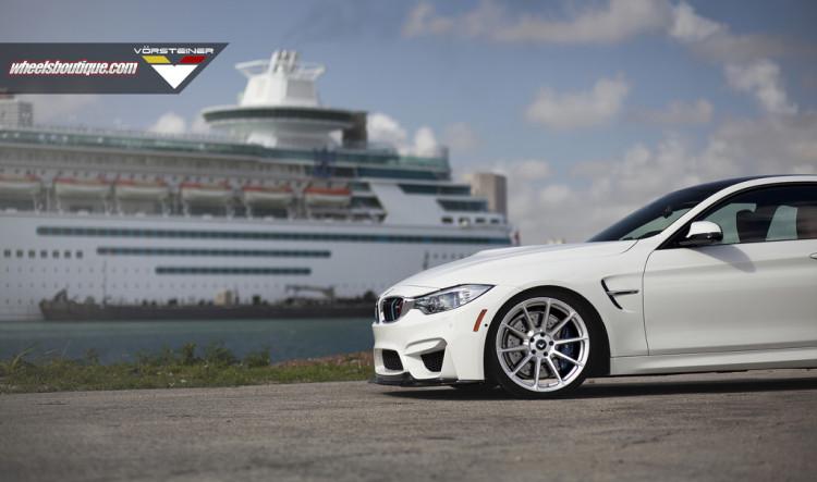 BMW M4 With Vorsteiner Wheels By Wheels Boutique 2 750x443