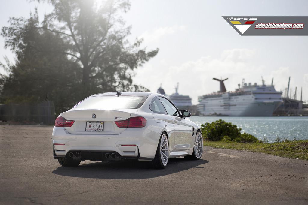 BMW M4 With Vorsteiner Wheels By Wheels Boutique 3