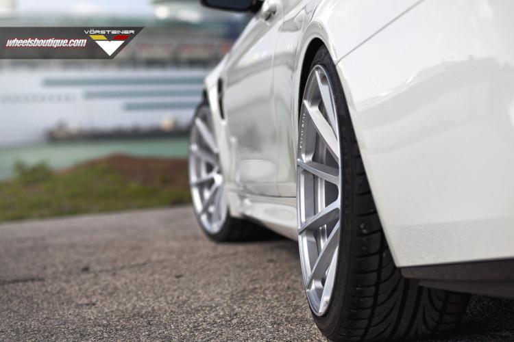 BMW M4 With Vorsteiner Wheels By Wheels Boutique