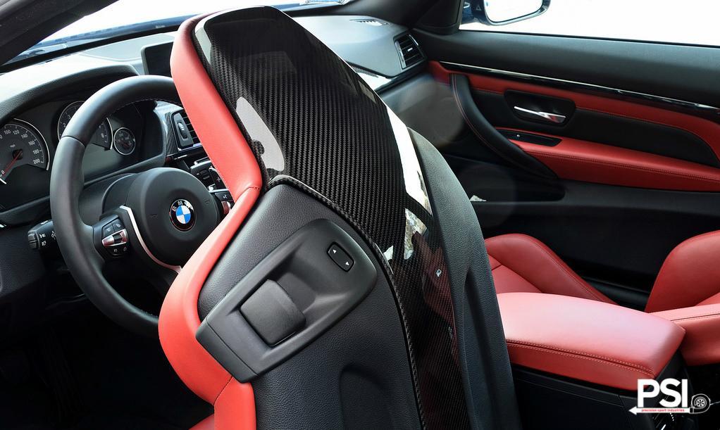 Carbon Fiber Seat Trim For Bmw F8x Models