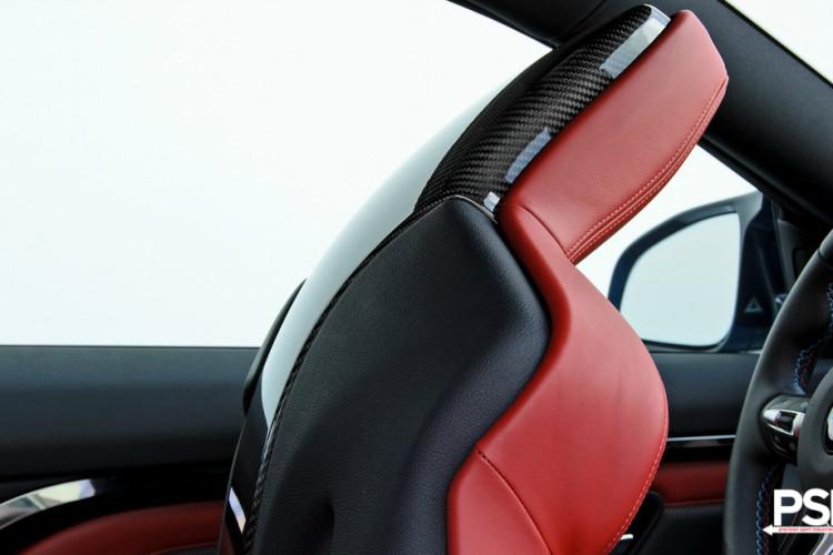 Carbon Fiber Seat Trim For BMW F8X Models 5 750x500