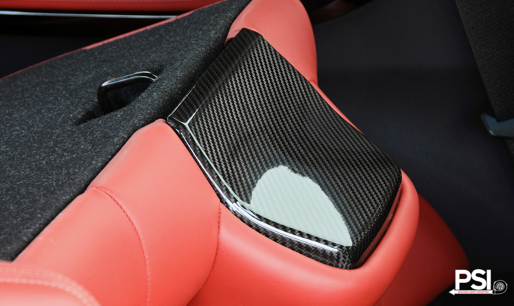 Carbon Fiber Seat Trim For BMW F8X Models 6