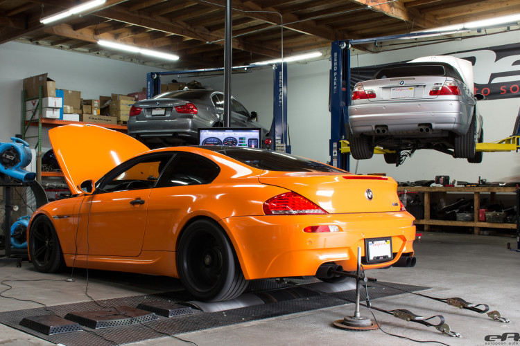 Fire Orange BMW M6 Showcase By European Auto Source 1 750x500
