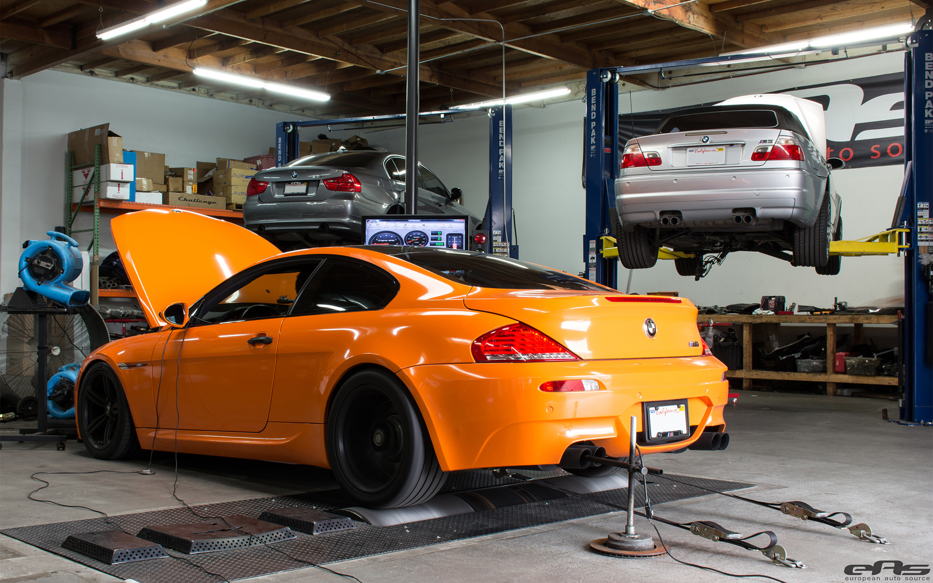 Fire Orange BMW M6 Showcase By European Auto Source 1