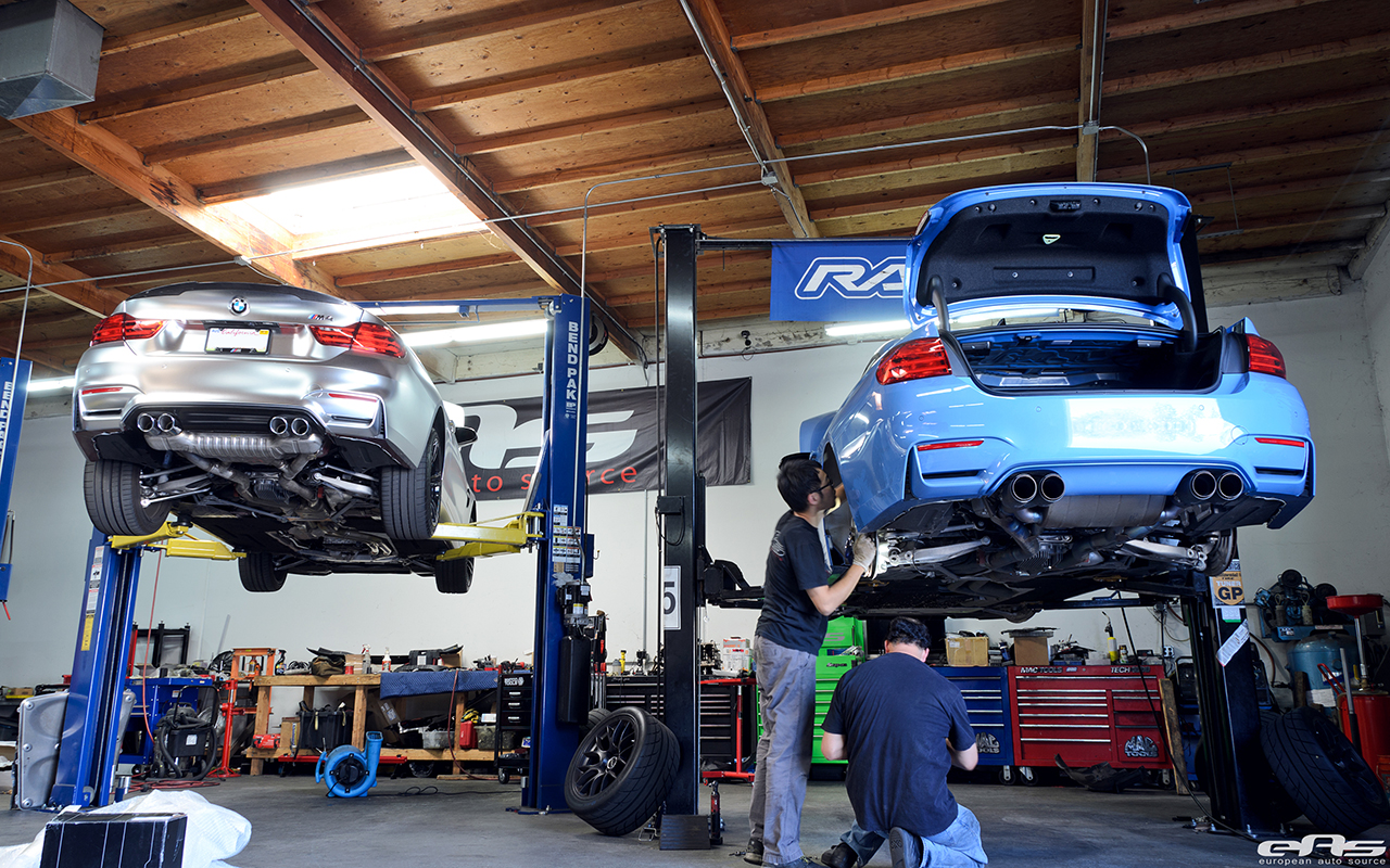JRZ RS Pro Coilovers Installed On A Yas Marina Blue M4 Image 12