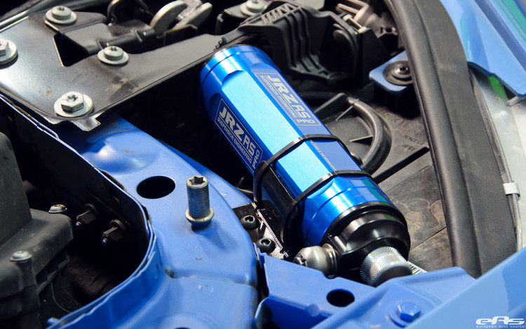 JRZ RS Pro Coilovers Installed On A Yas Marina Blue M4 Image 15 750x469