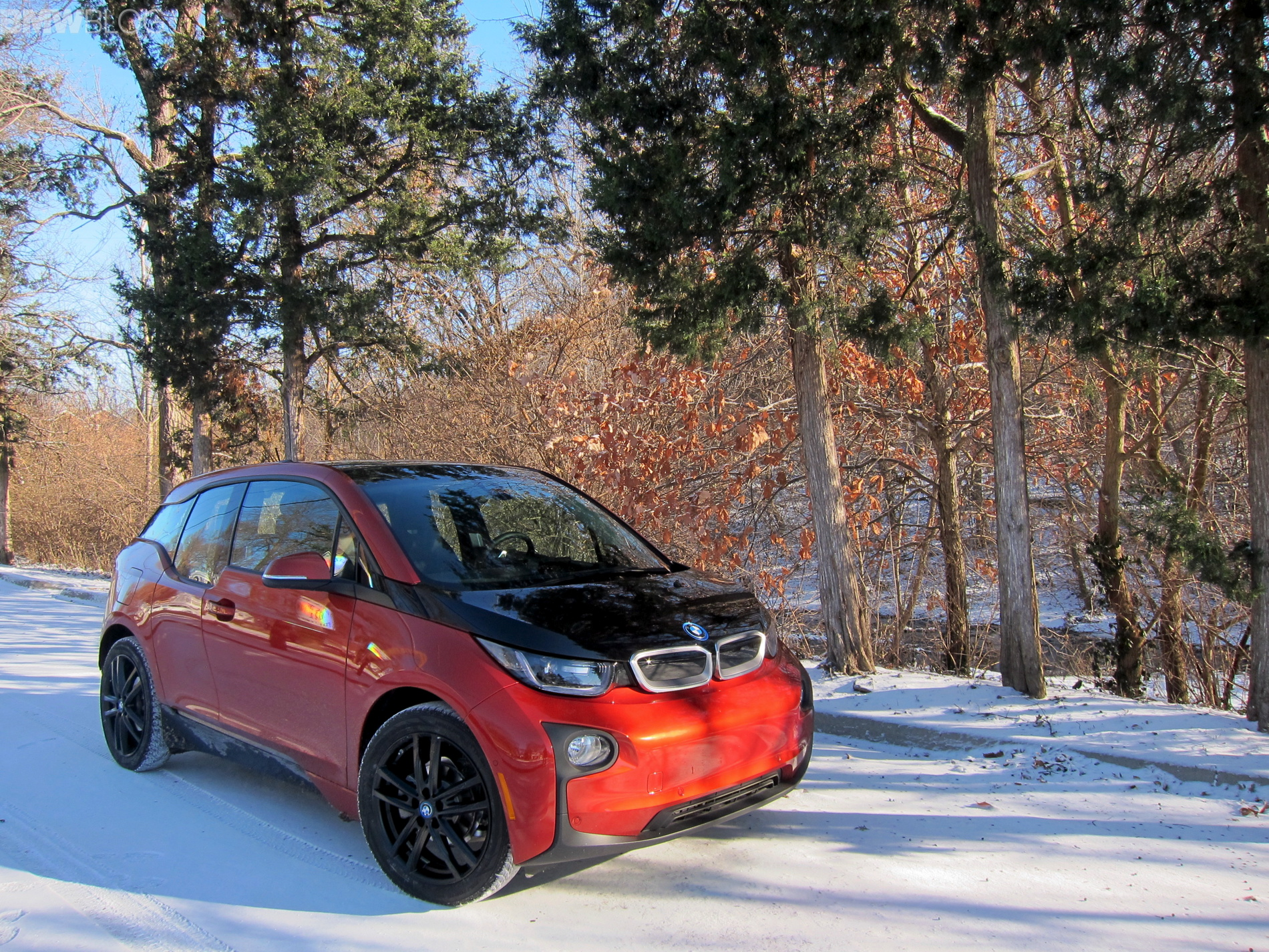 Bmw I3 Winter Tires Review Bridgestone Blizzak Lm 500 Vs Nokian