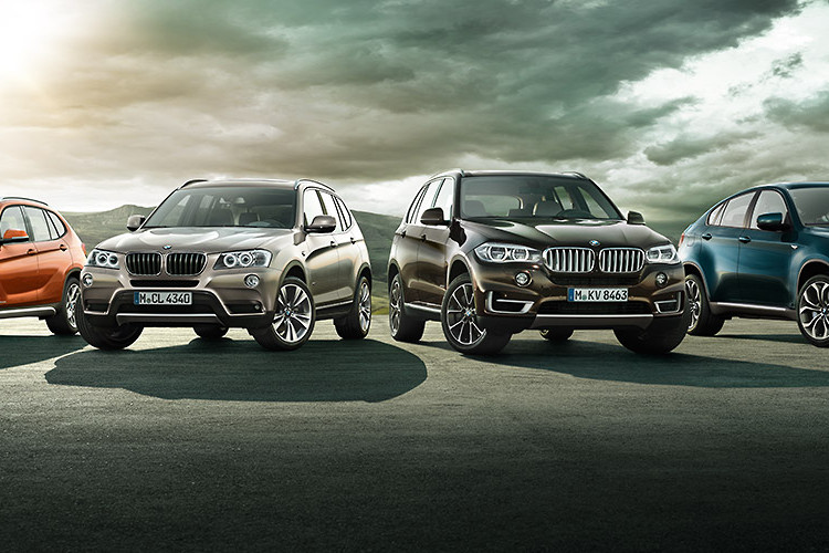 Bmw X Series >> History Of The Bmw X Series