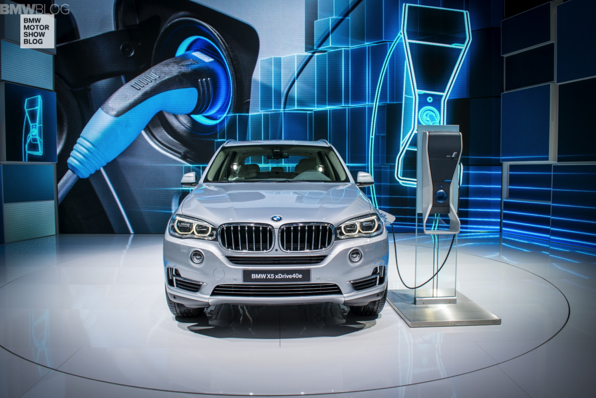 Bmw X5 Xdrive40e Debuts At The 2015 Shanghai Motor Show