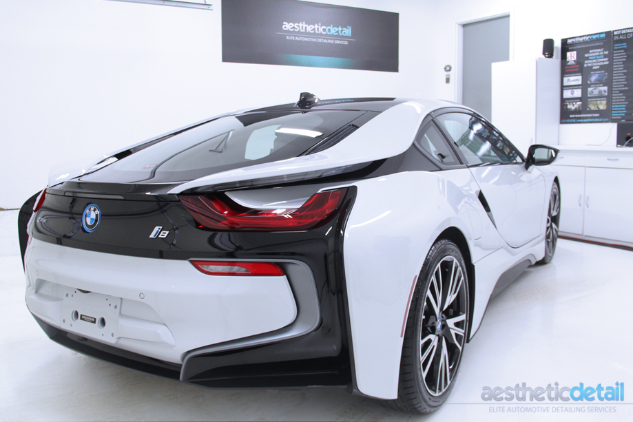 How to detail a BMW i8