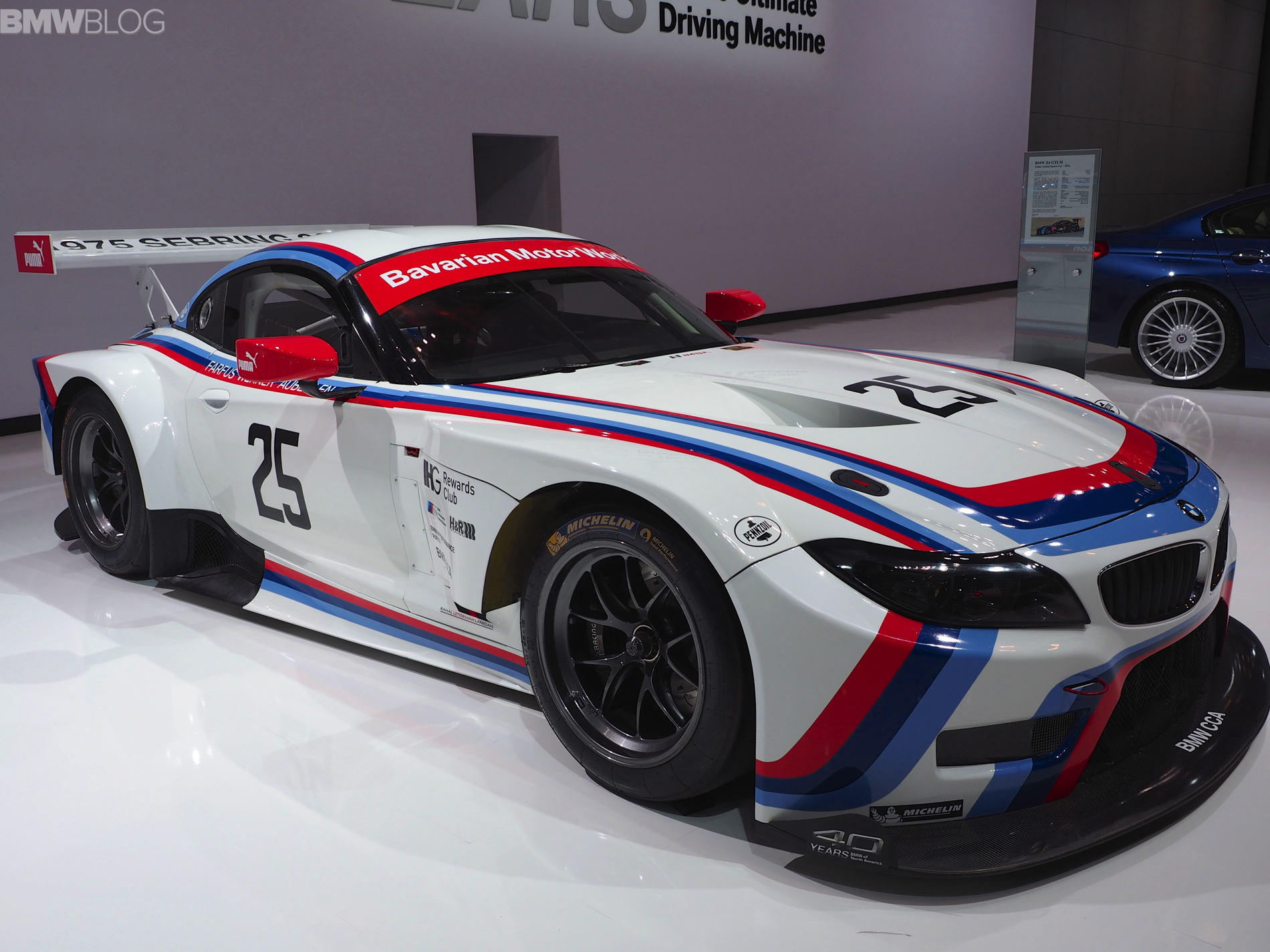 2015 Nyias Bmw Z4 Gtlm Sebring 75 Edition Race Car