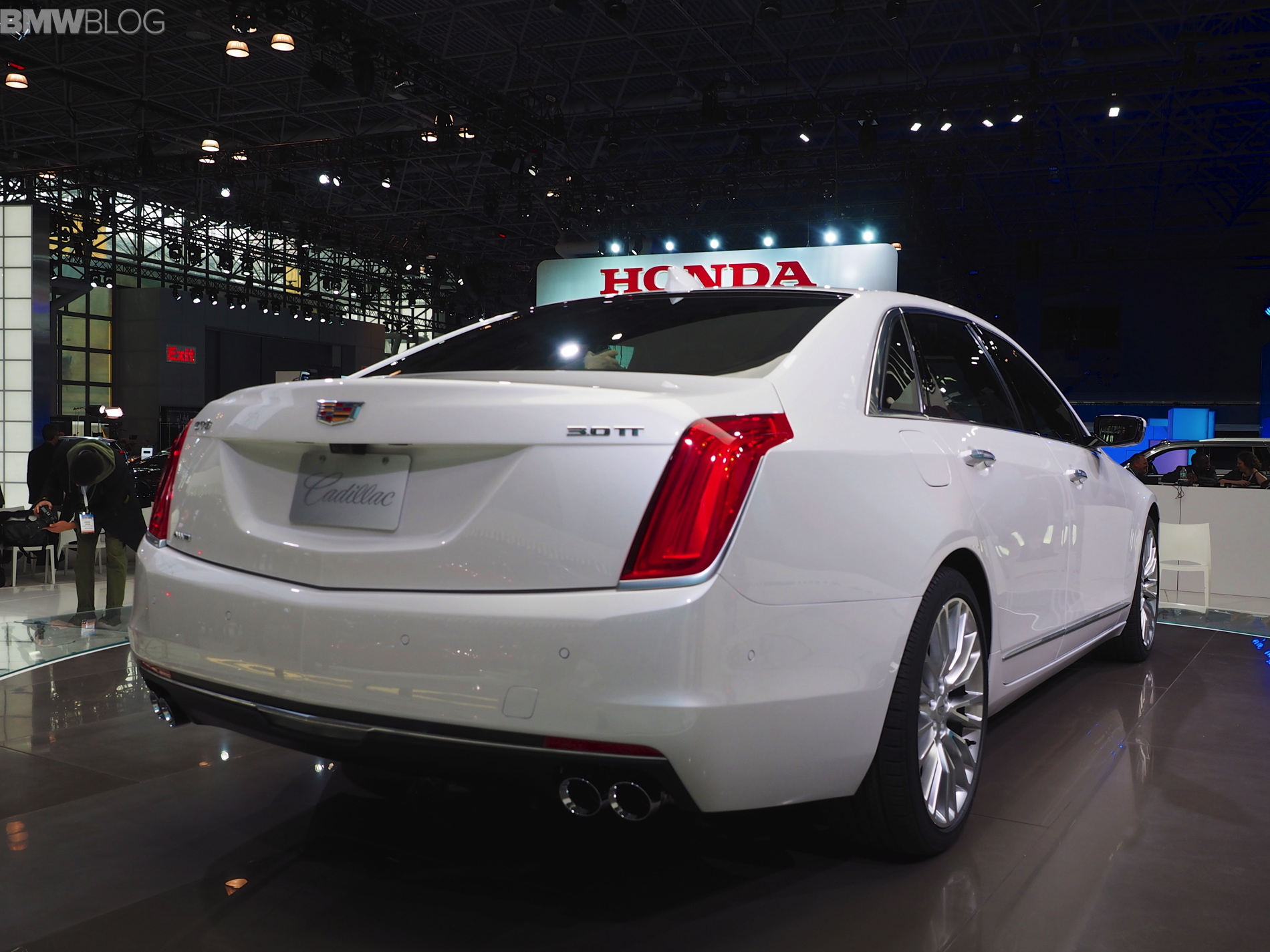 Cadillac Ct New York Auto Show Images