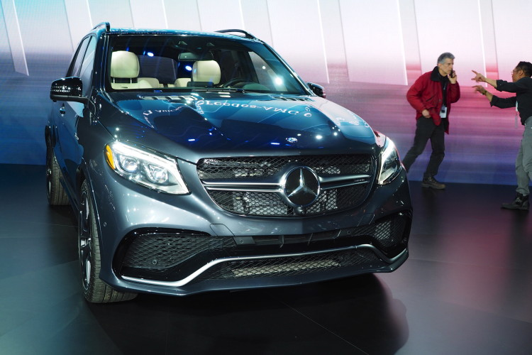 2015 Nyias Mercedes Benz Gle Class World Debut