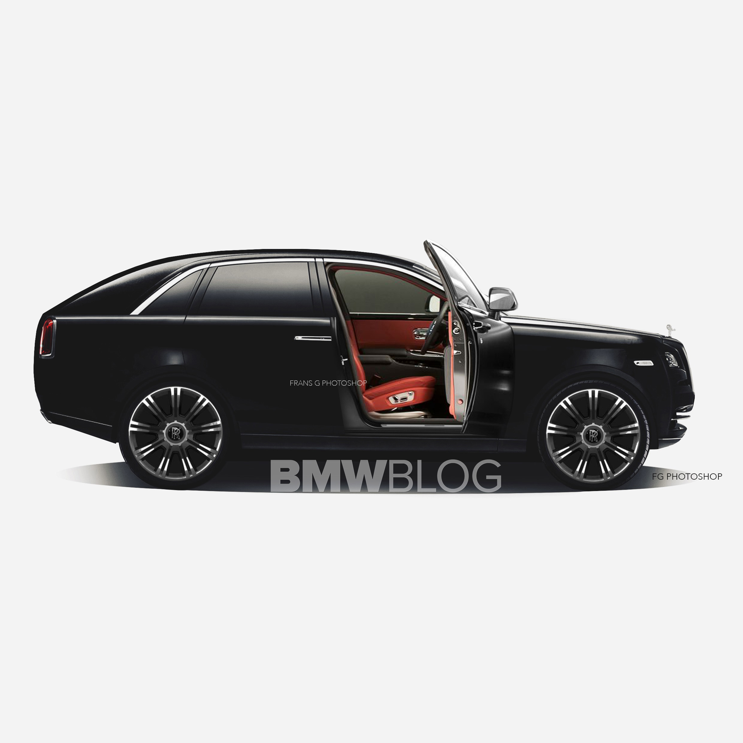 2018 Rolls Royce Suv Rendered