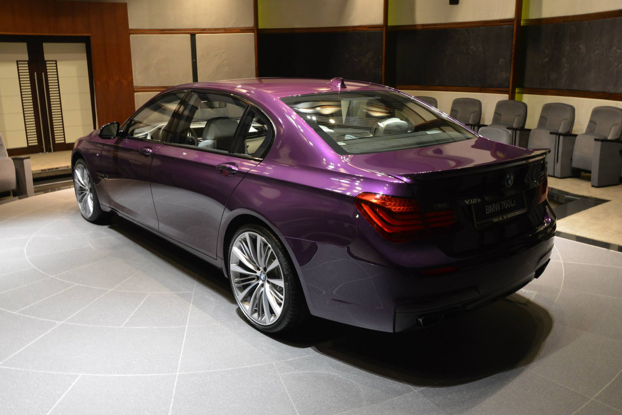 2015 Bmw 760li In Twilight Purple