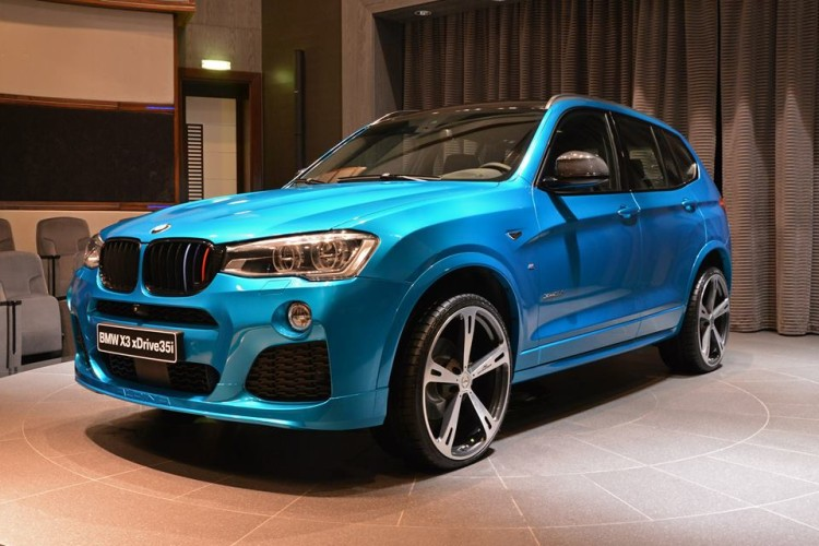 Beautiful BMW X3 With M Sport Package And Tuning Accessories