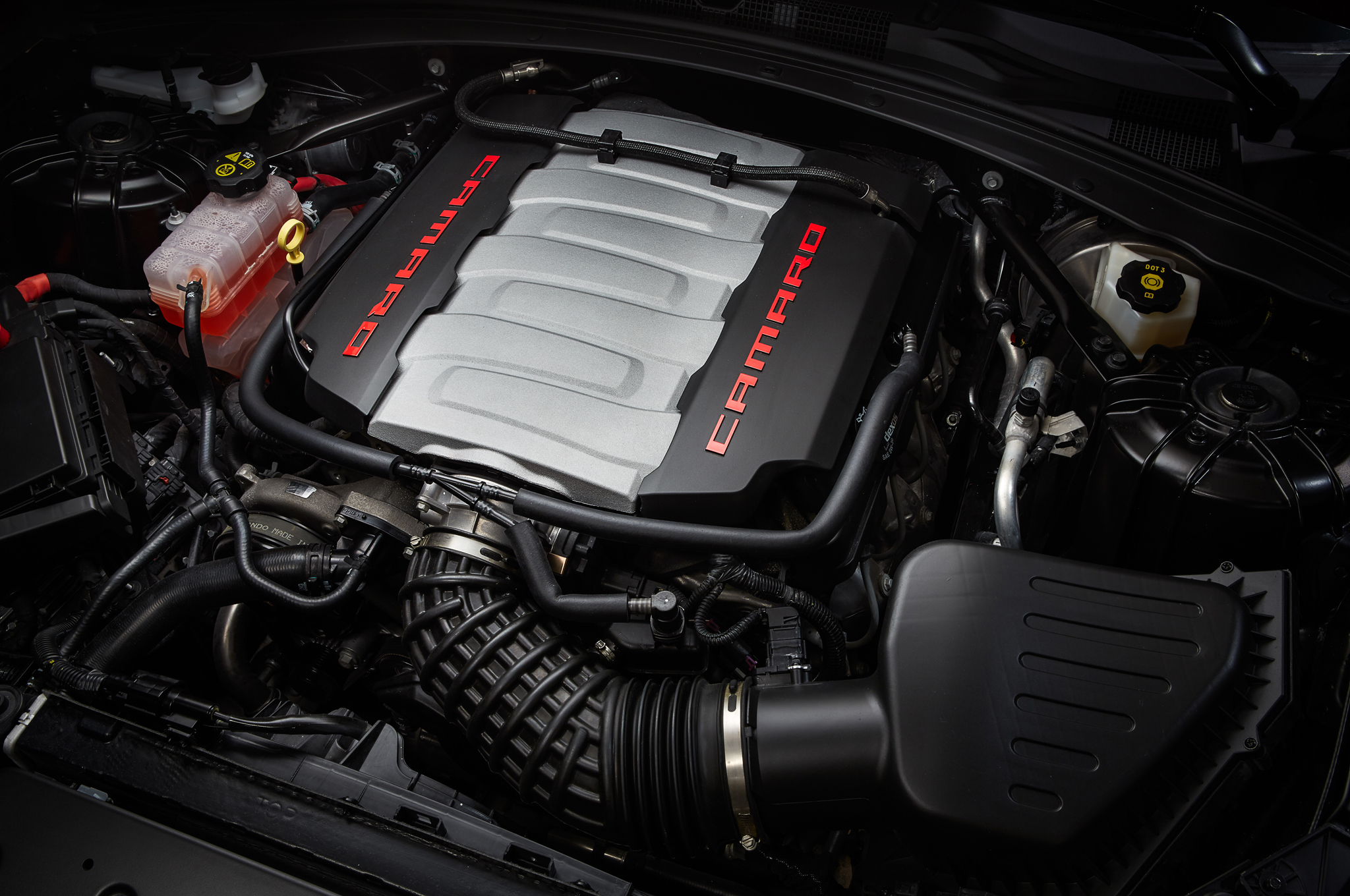 2016 Chevrolet Camaro Engine 02 750x498