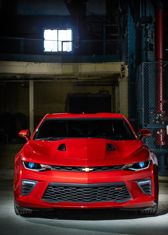 2016 chevrolet camaro front end 536x750