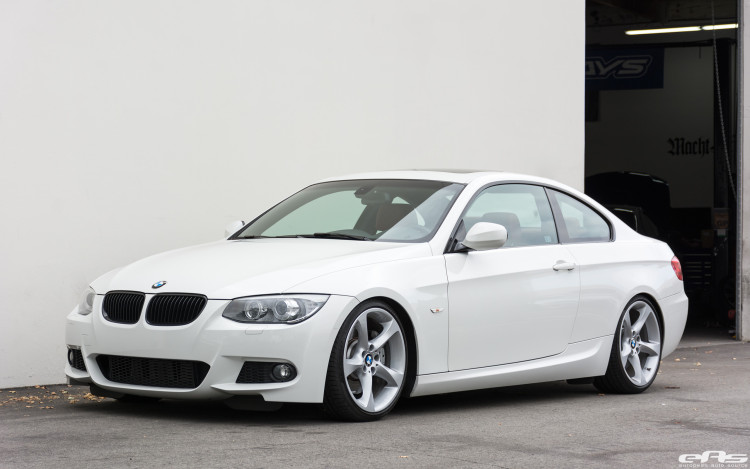 Alpine White BMW E92 335i Gets A Suspension Update 2 750x469