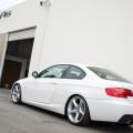 Alpine White BMW E92 335i Gets A Suspension Update