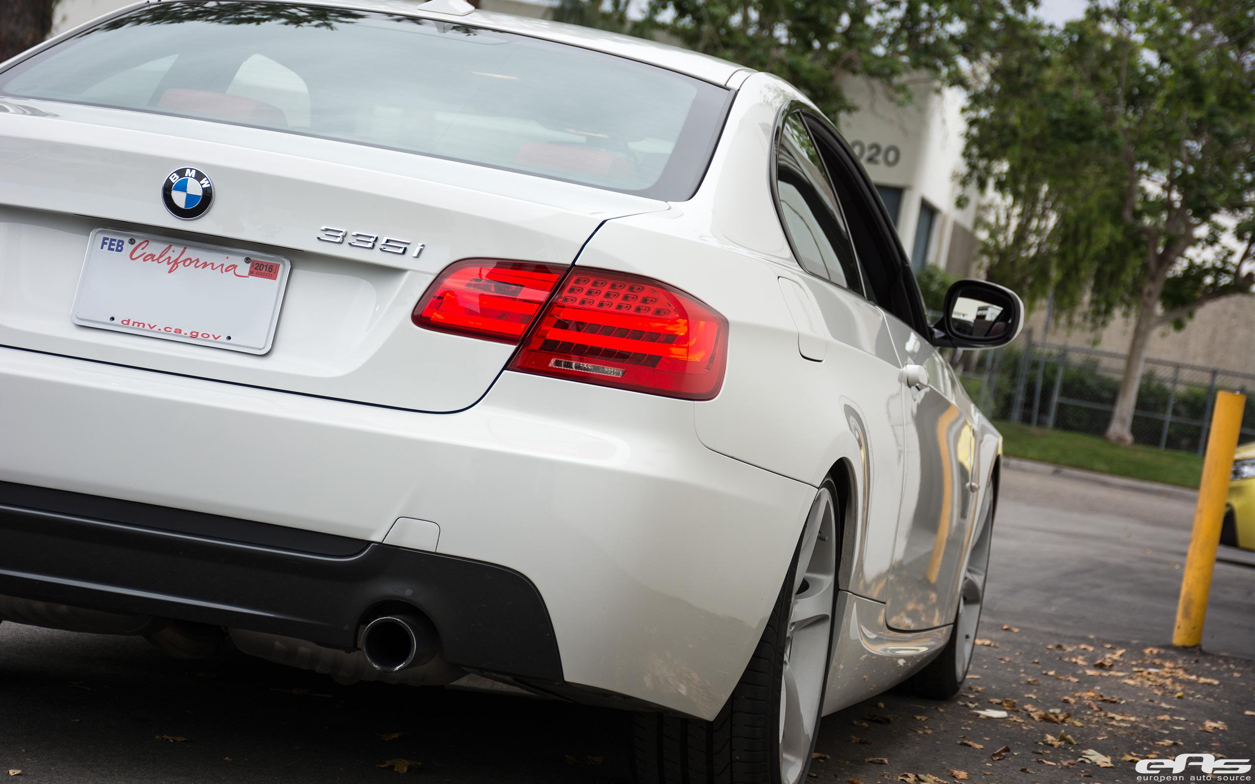 Alpine White BMW E92 335i Gets A Suspension Update 6