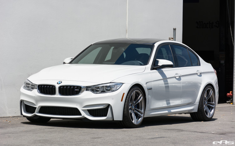 Alpine White Bmw F80 M3 With A Remus Exhaust System Installed