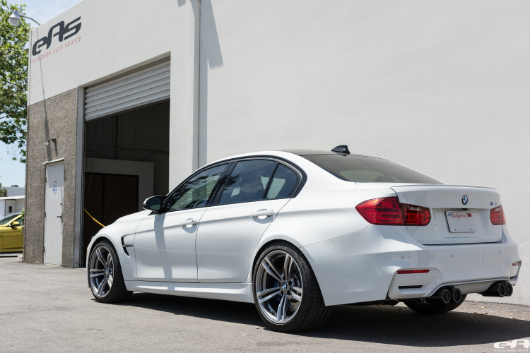 Alpine White BMW F80 M3 With A Remus Exhaust System Installed 16 750x500