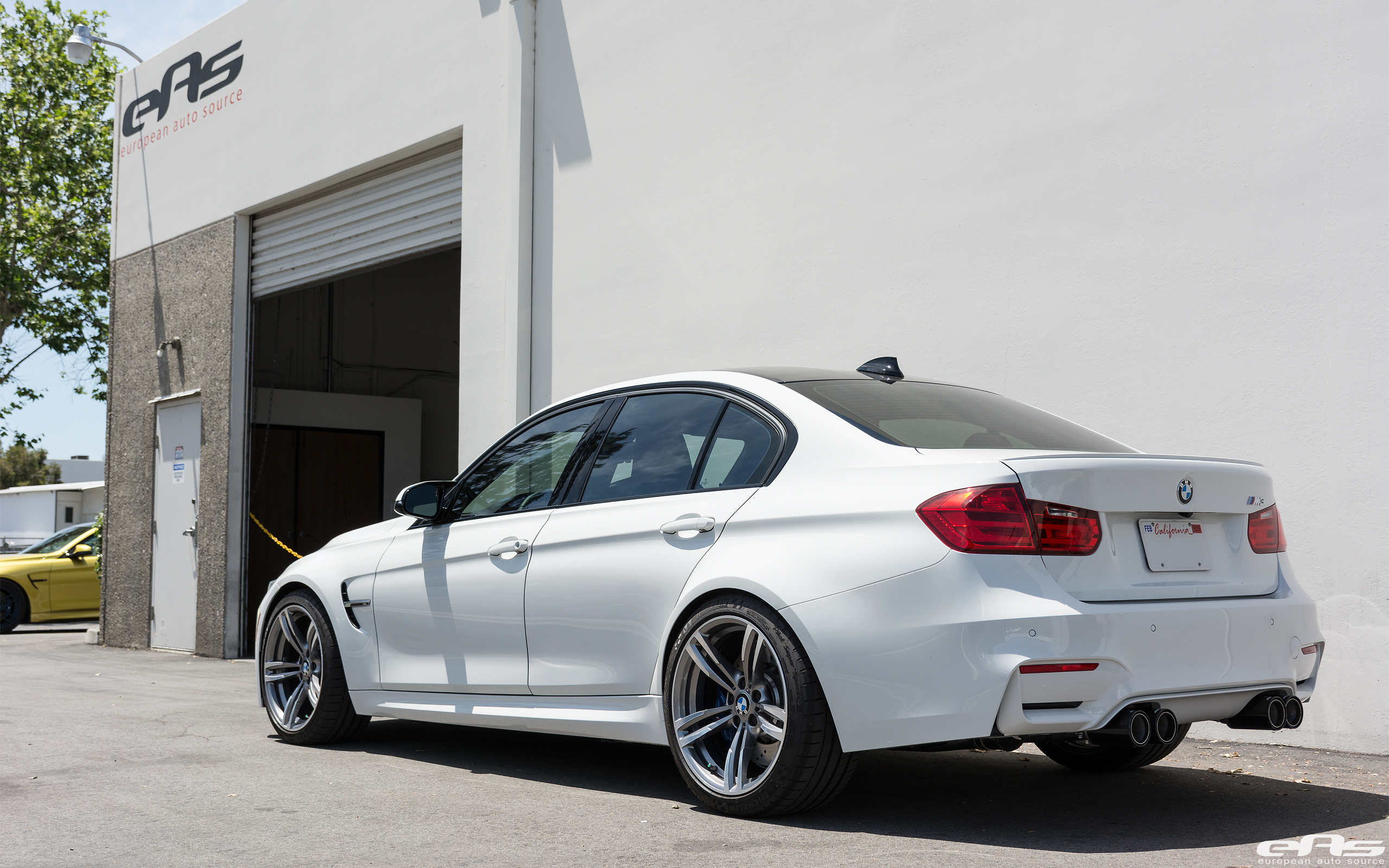 Alpine White BMW F80 M3 With A Remus Exhaust System Installed 16