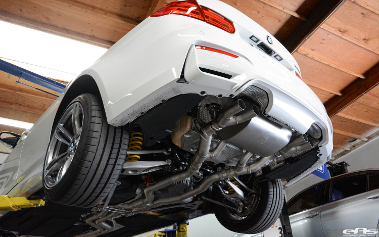 Alpine White BMW F80 M3 With A Remus Exhaust System Installed 8 750x469