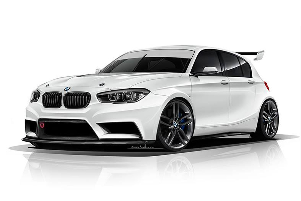 BMW 1 Series Hatch Racing Car by ADF Motorsport