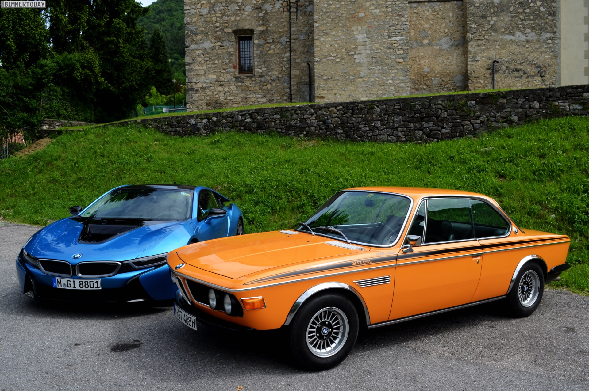 Bmw 3 0 Csl >> Legendary Meeting Bmw 3 0 Csl Meets Bmw I8