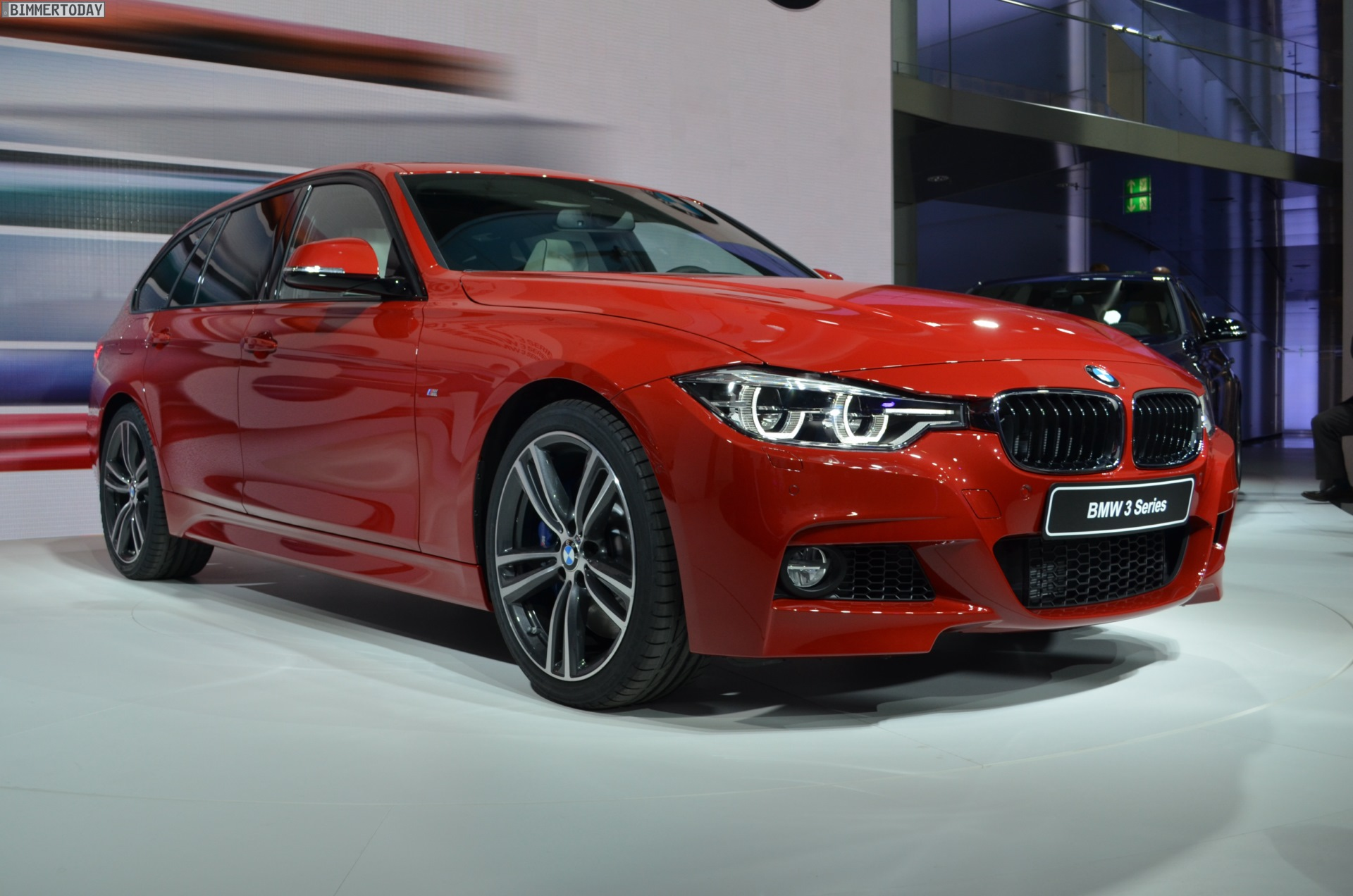 bmw 340i touring with m sport package in melbourne red. Black Bedroom Furniture Sets. Home Design Ideas
