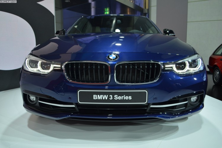 BMW 3 Series front view