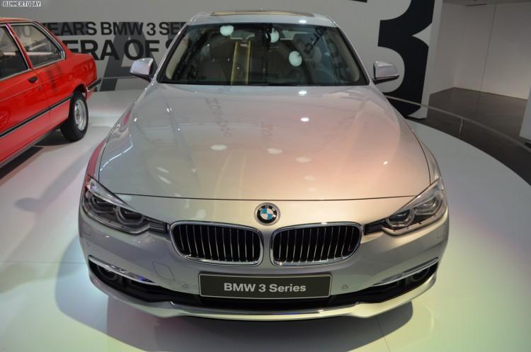 BMW 3er Facelift 2015 330i F30 LCI Glacier Silber 16 750x497