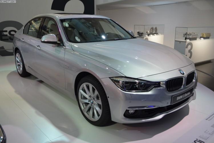BMW 3er Facelift 2015 330i F30 LCI Glacier Silber 17 750x500