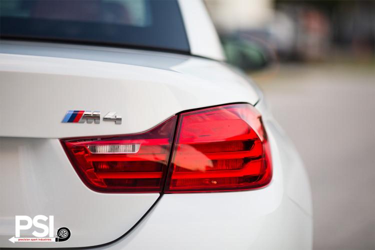 Alpine White BMW 4 Series Convertible Photoshoot