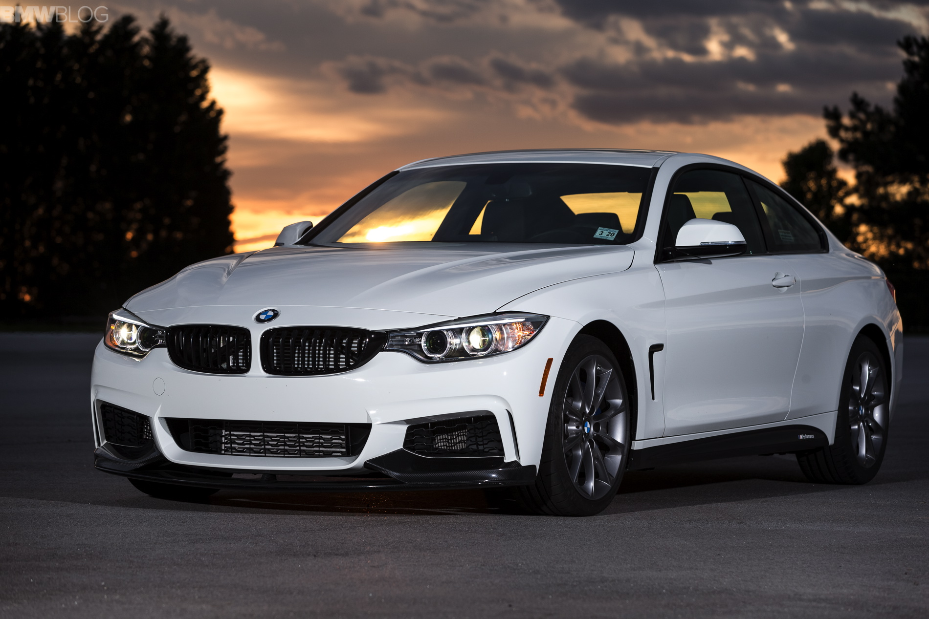 Bmw Unveils The Special Edition Bmw 435i Zhp Coupe