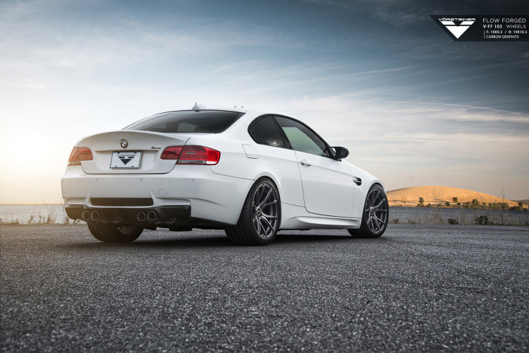 BMW E92 M3 on Vorsteiner Flow Forged V FF 103 Wheels 4 750x500
