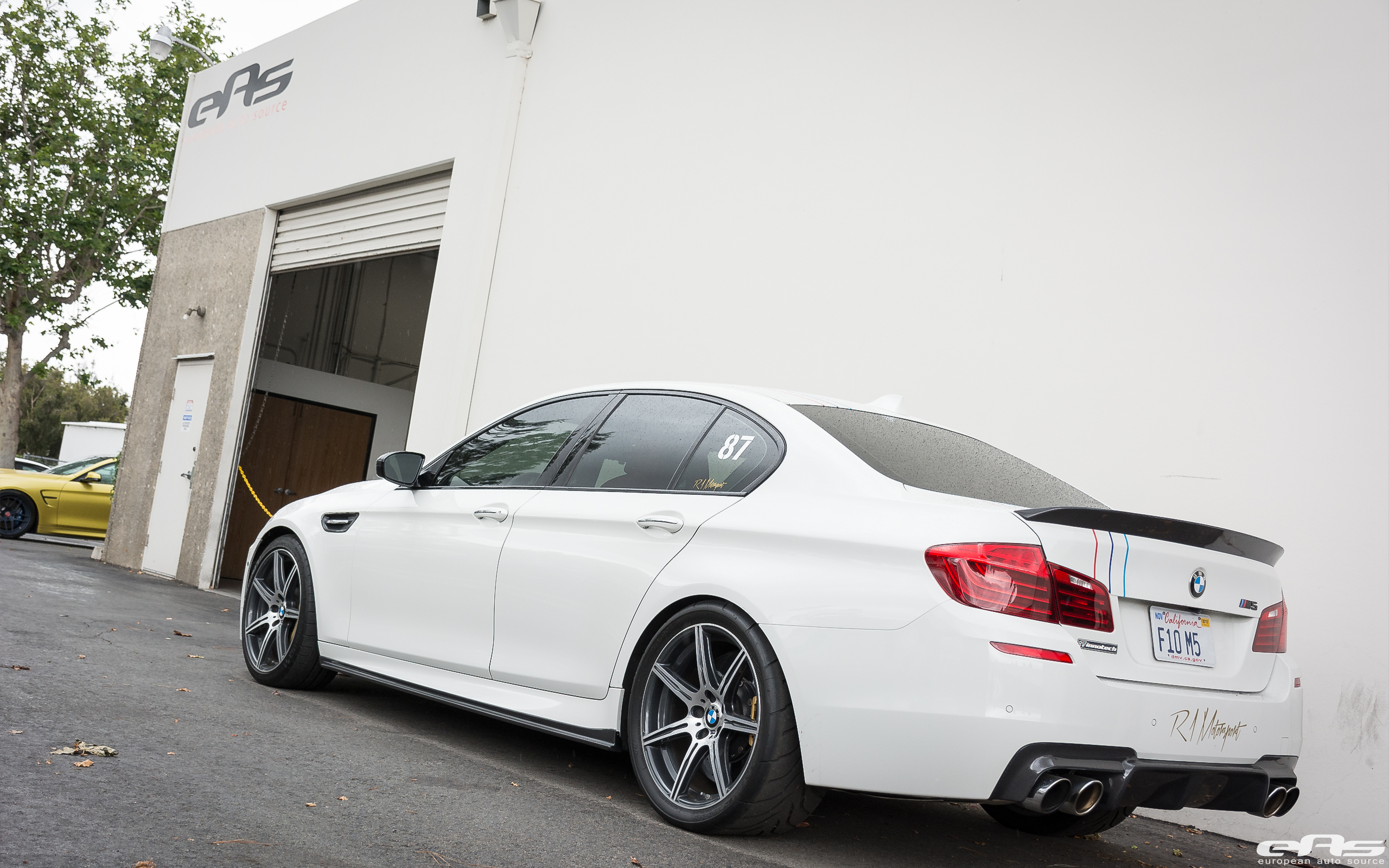 Bmw F10 M5 At Eas Getting Some Work Done
