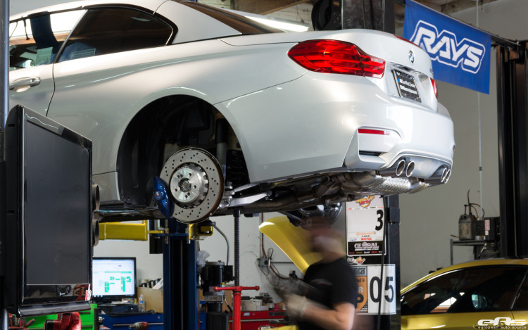 BMW M4 Gets Lowered At European Auto Source 2 750x469