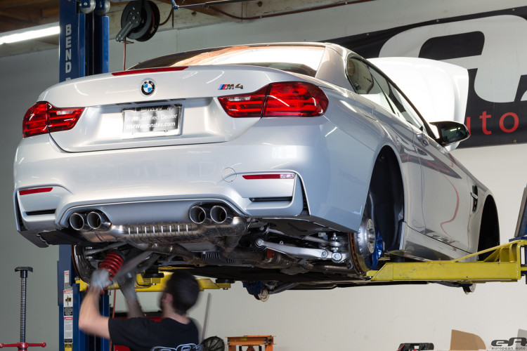 BMW M4 Gets Lowered At European Auto Source 5 750x500