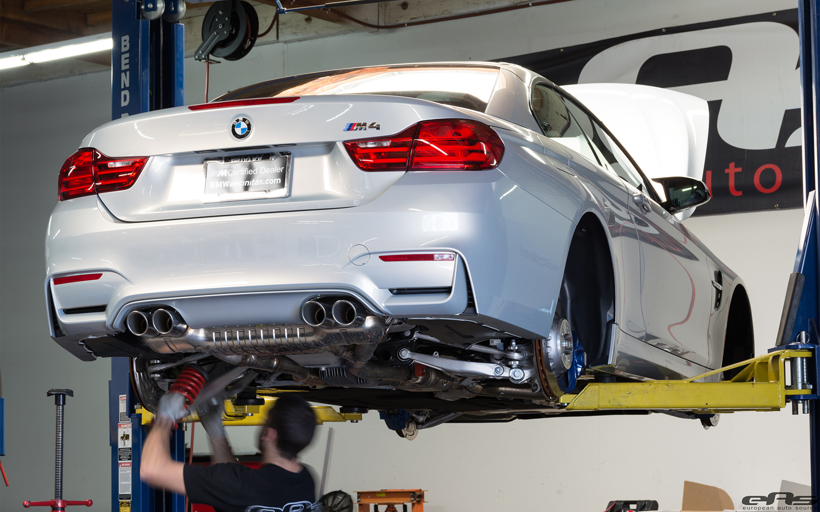 BMW M4 Gets Lowered At European Auto Source 5