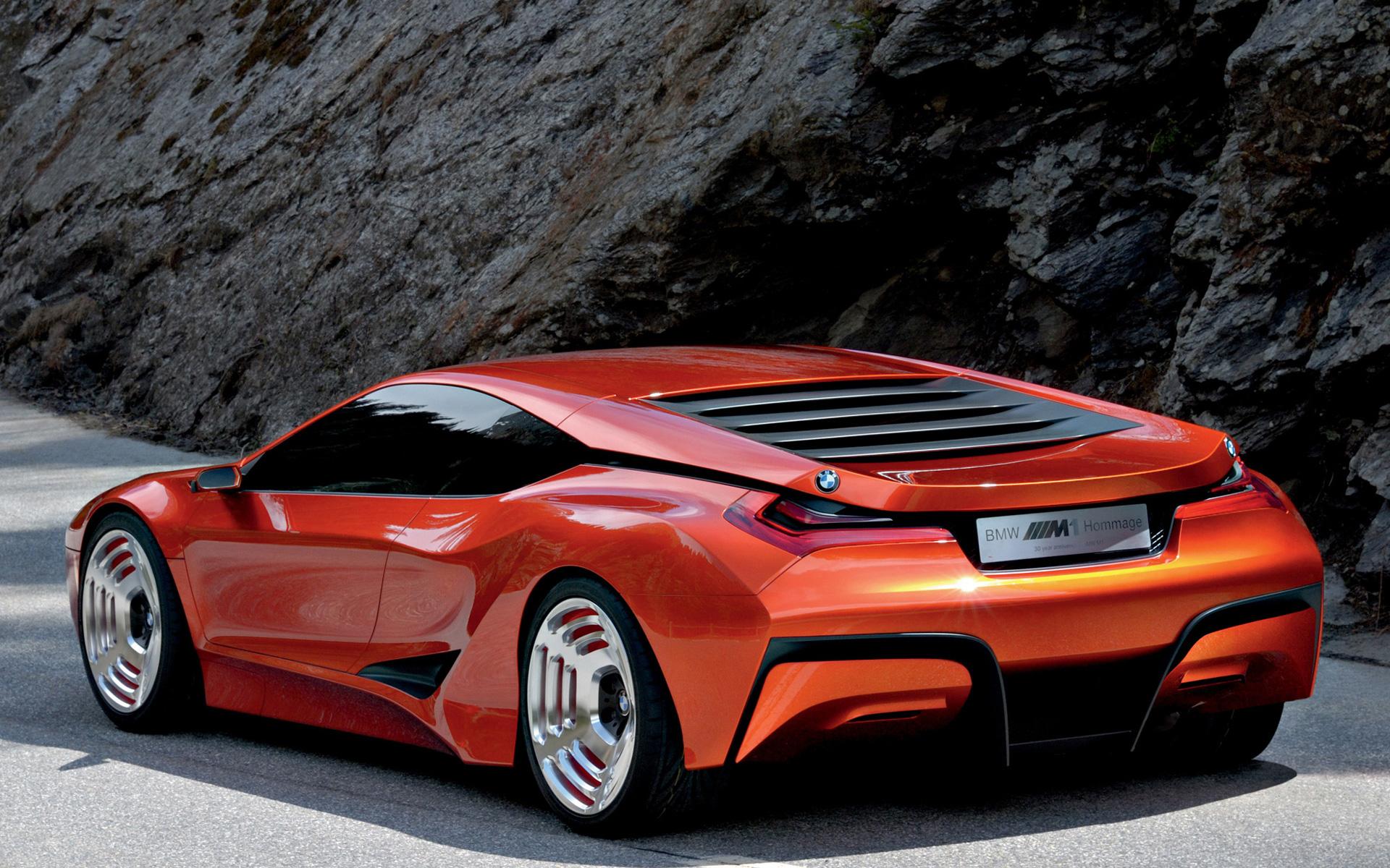 BMW M1 Hommage - Spiritual Precursor to the i8
