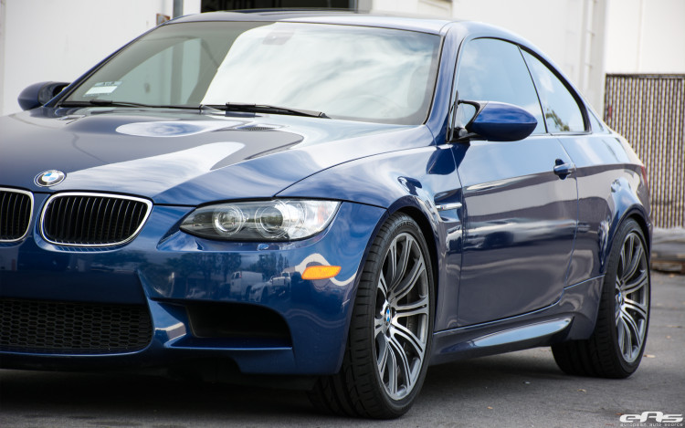 LeMans Blue BMW E92 M3 Gets Modified At European Auto Source
