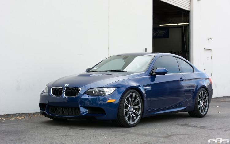 LeMans Blue BMW E92 M3 Gets Modified At European Auto Source 6 750x469